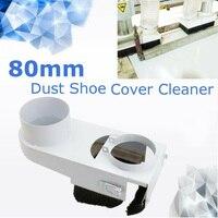 Para cnc roteador gravar ferramenta de trituração de metal 80mm eixo poeira sapato cover cleaners|Peças p/ máquinas de trabalho em madeira| |  -