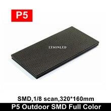 P5 zewnętrzny SMD pełny kolorowy moduł wyświetlacza Led 64x32 pikseli, wodoodporna dioda LED wideo elektroniczny znak taksówki