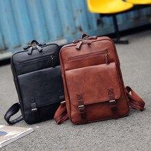 Fashion Women Backpack Waterproof PU Leather Travel Bag Woma