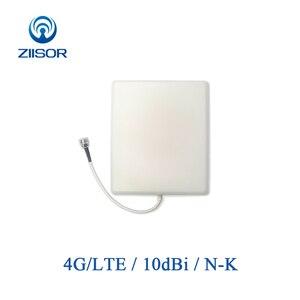 Image 1 - 4G LTE Outdoor Directional Panel Antenna High Gain N Female Waterproof Antena WWAN Base Station Ziisor TX4G PB 2118