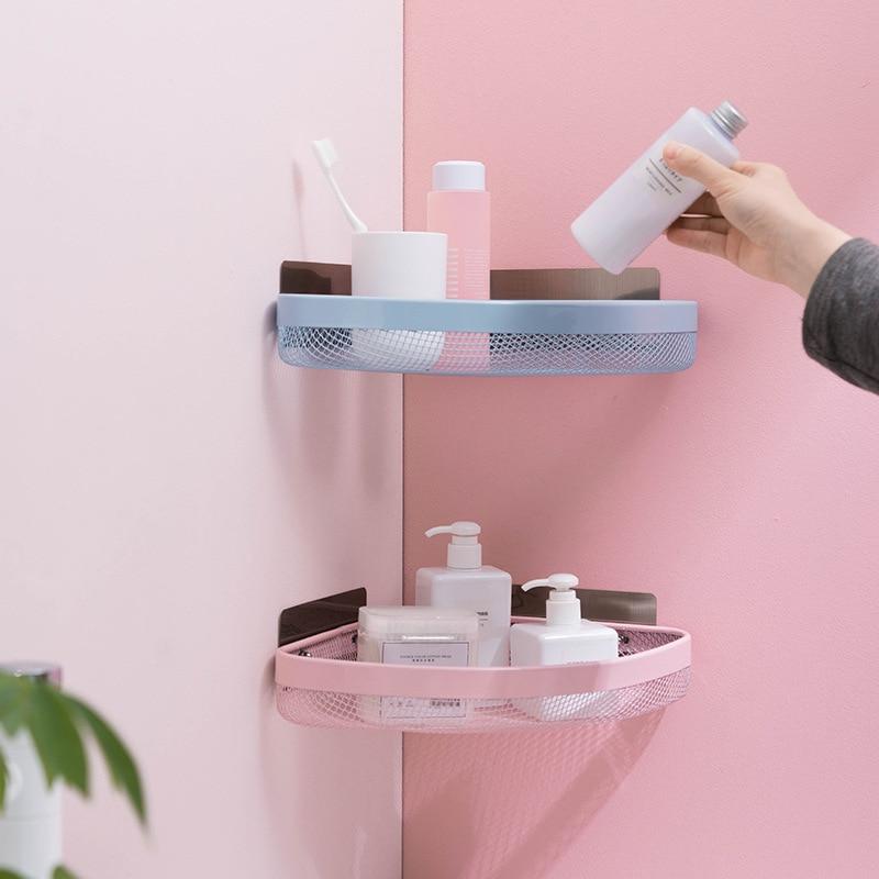 Punchless Triangle Wall Corner Shelf 2