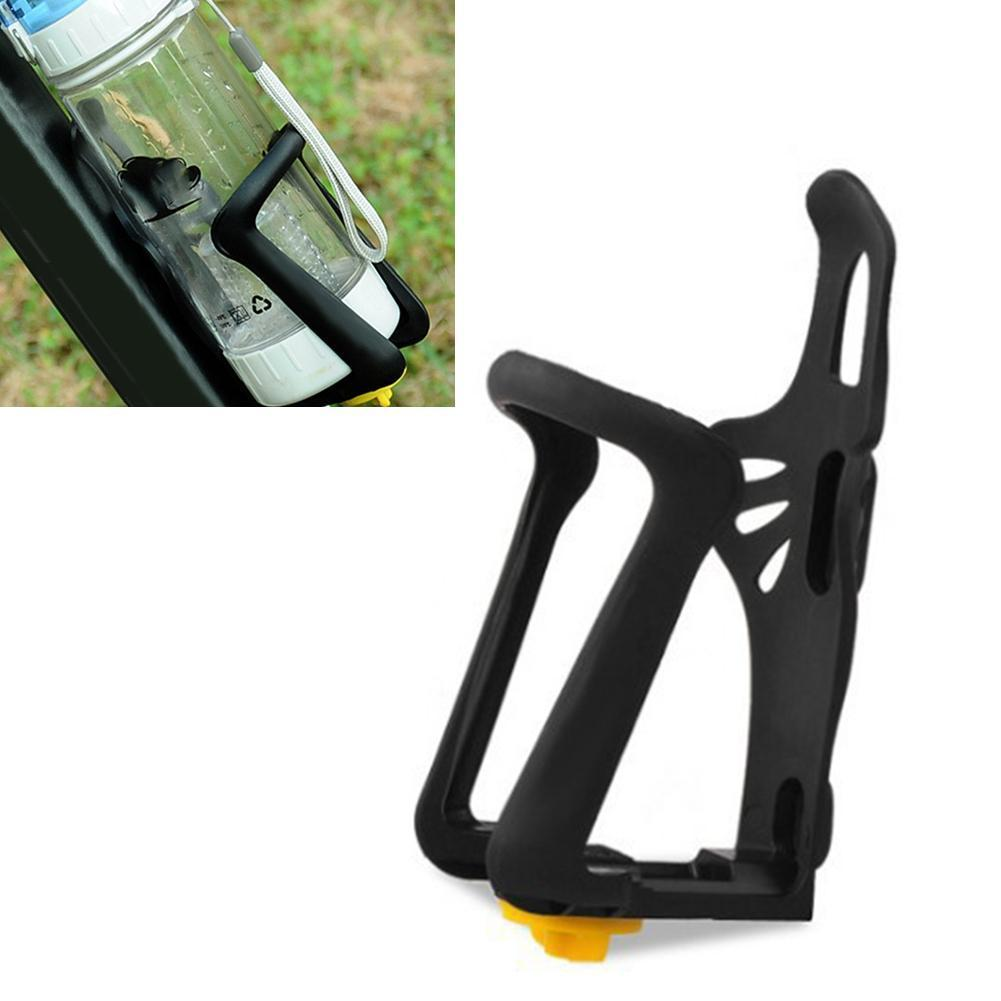 Plastic Elastic Drink Cup Water Bottle Holder Bracket Bike Cage Rack For Mountain Road Bicycle Adjustable W4N9