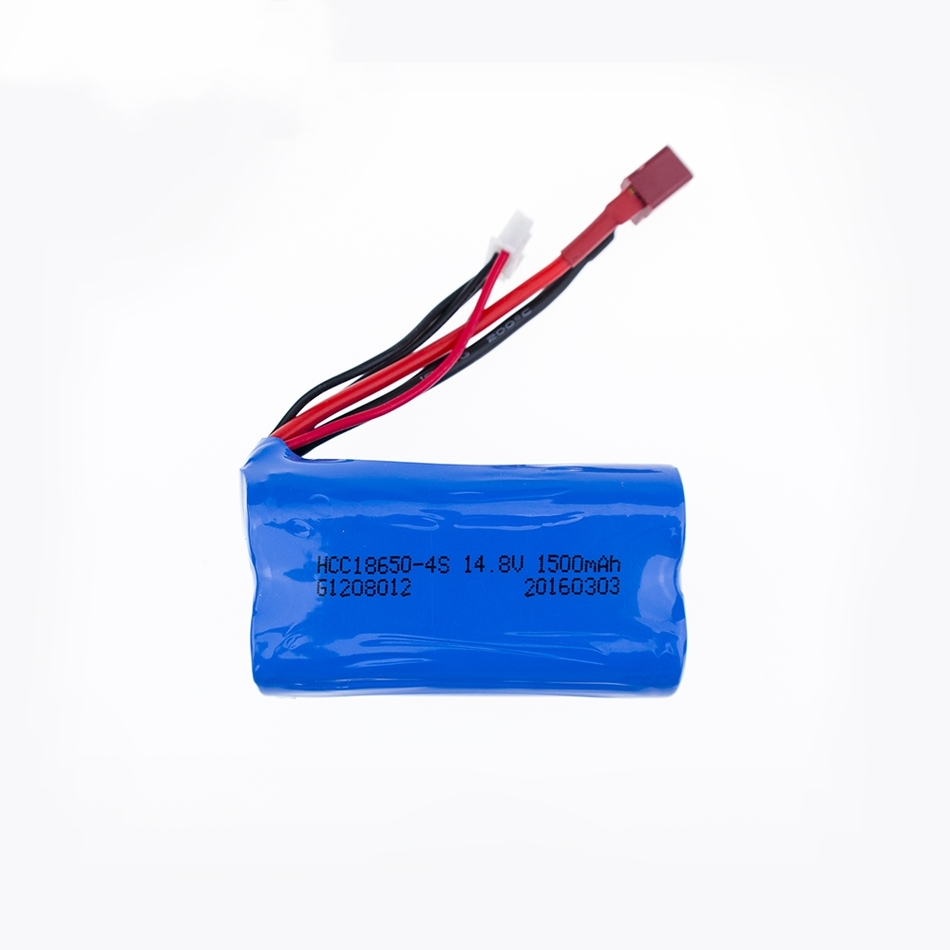 1pc 2019 New Rc <font><b>Lipo</b></font> Battery <font><b>4S</b></font> 14.8V <font><b>1500Mah</b></font> T plug Li-ion battery 18650 For QS8006 Rc helicopter RC Quadcopter image