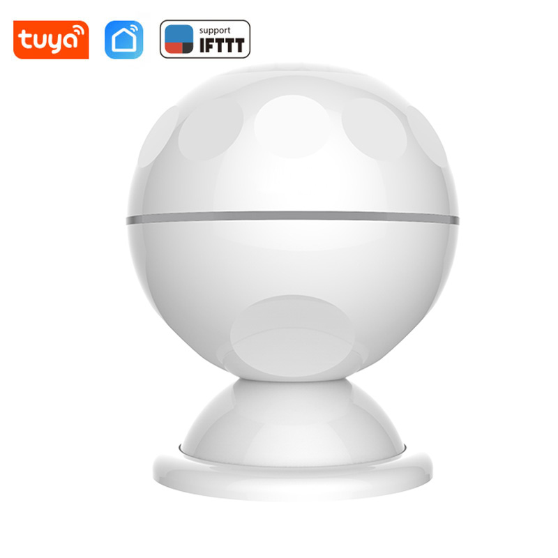Wireless WiFi PIR Motion Detection Sensor Infrared Detector Battery Powered Tuya Smart Life APP Notification