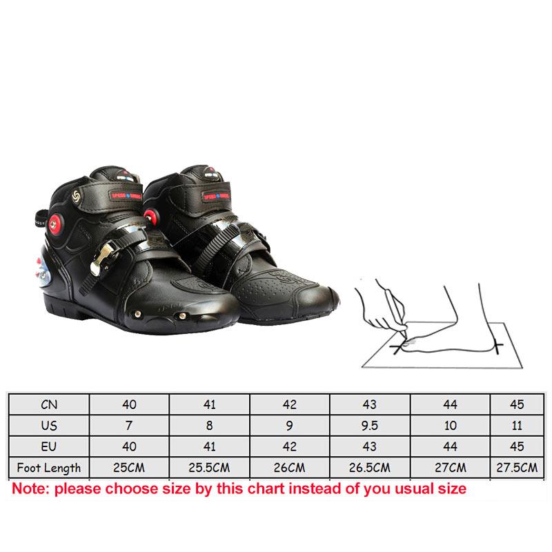 Marke Pro-biker Motorrad Reiten Atmungsaktive Stiefel Moto/Motocross Ankle Motorrad Biker Touring Bots Schuhe für Männer Frauen