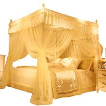 Trzy drzwi elegancki dom moskitiera 1 8m moskitiera na łóżko artykuł ziarna namiot ze stali nierdzewnej koronki księżniczka kurtyna namiot z łóżkiem tanie tanio Trzy-drzwi Uniwersalny Czworoboczny Domu Dorosłych Pałac moskitiera Owadobójczy traktowane Poliester bawełna