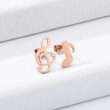 2019 Personalized Stud Earrings Silver Rose Gold Glamour Womens Jewelry Birthday Gift