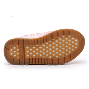 Image 4 - Apakowa Girls Sneaker Shoes Lovely Cute Kids PU Leather with Heart Patched Childrens Hook and Loop Girls Sneaker EU 22 27