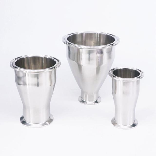 "O/D 25/32/38/45/51/57/63/76mm Reducer 2.5"" Tri Clamp 304 Stainless Steel Sanitary Fitting Homewbrew Food Hygiene Grade"