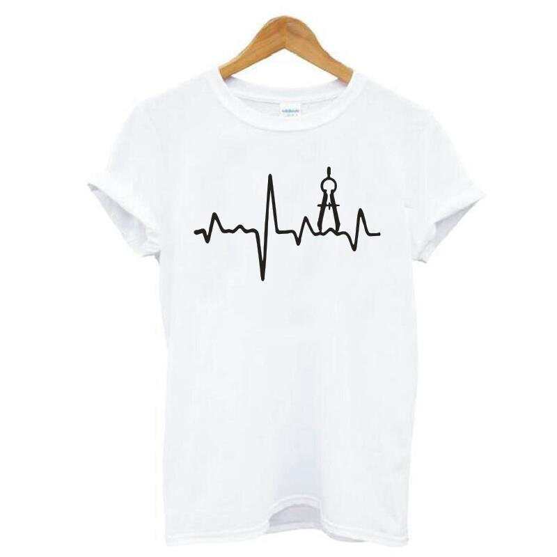 Architecture in a Heartbeat T-Shirt 1