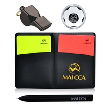 Useful Sport Football Soccer Referee Wallet Notebook With Re