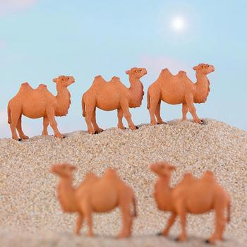 Realistic Desert Camel Animal Figurine DIY Miniature Landscape Garden Home Accessory Ornaments image