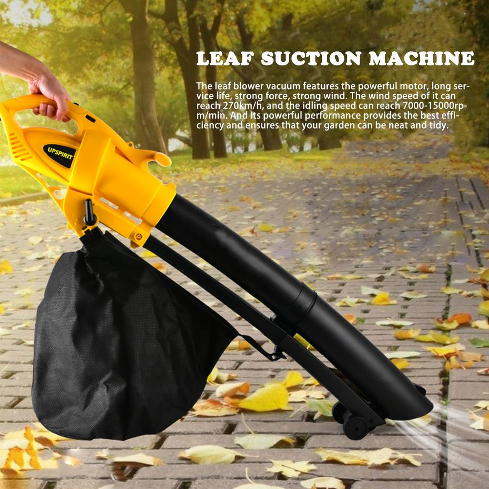 Power Cordless 3000W Cleaner Cleaning Vacuum Leaf Air Tool Garden Suction Dust Electric Dust Collector Blower Handheld Blowing