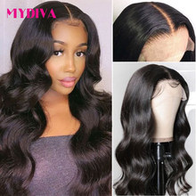 13x4 Lace Front Human Hair Wigs Brazilian Body Wave Human Hair Wigs Lace Frontal Wig Pre Plucked 4x4 Lace Closure Wigs Remy