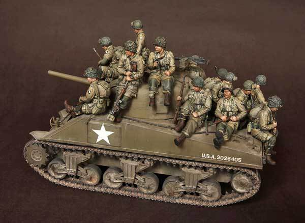 [Tusk 모델] 1/35 스케일 미공개 수지 피규어 수지 모델 키트 us soldier big set (14 피규어)