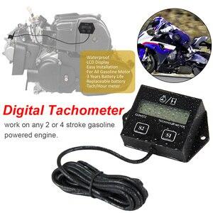 Waterproof Tachometer Gauge Di