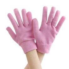 1 Набор многоразовых косметических и перчаток, увлажняющие отбеливающие отшелушивающие гладкие красивые носки для рук