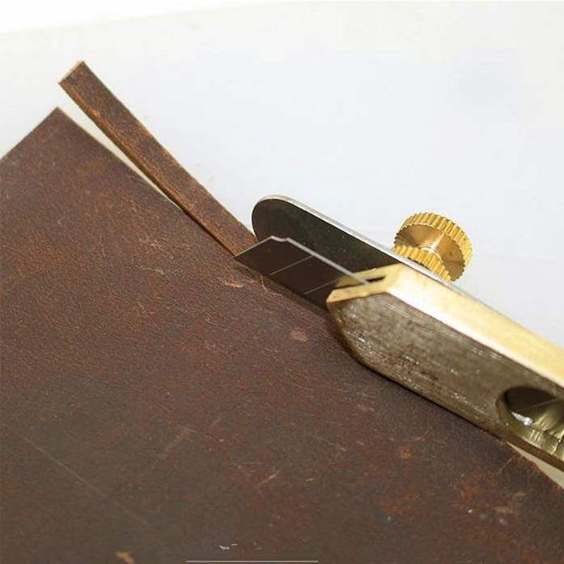 1 шт., кожаные инструменты для рукоделия, резак для резки, сделай сам, медный нож для обрезки лезвия, кожа, режущий инструмент|Резка|   | АлиЭкспресс