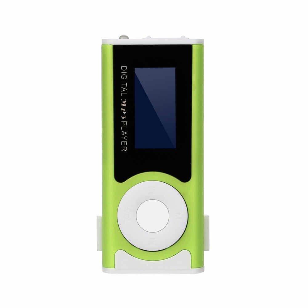 MP3 プレーヤー USB ミニ液晶画面サポート 32 ギガバイトのマイクロ SD TF カードデジタルスケールのプラスチックケースポータブル高品質 f815