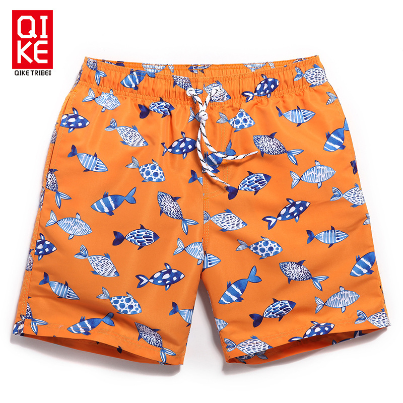 Chic MEN'S Beach Pants Seaside Holiday Quick-Dry Short Casual Shorts Loose And Plus-sized AussieBum Summer Fashion