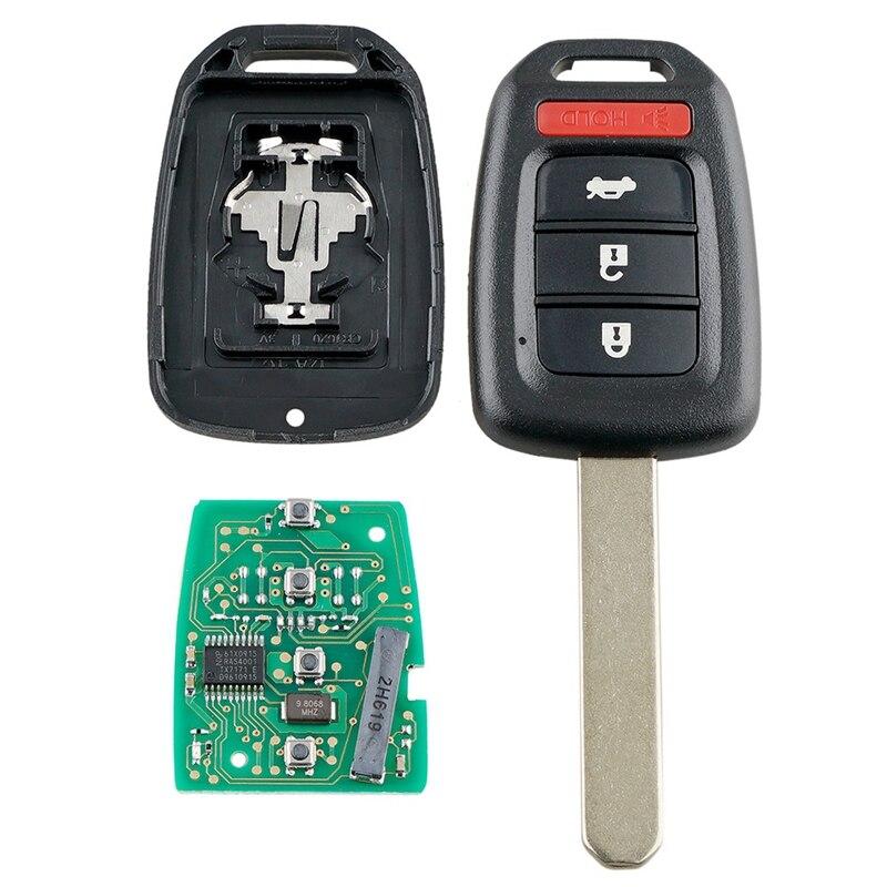 Интеллектуальный Автомобильный ключ дистанционного управления 4 кнопки автомобильный брелок подходит для Honda Civic 2014 2015 2016 2017 313 8 МГц Mlbhlik6-1T
