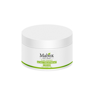 Image 5 - MABOX 20g Acne Treatment Blackhead Remova Anti Acne Cream Oil Control Shrink Pores Acne Scar Remove Face Care Whitening