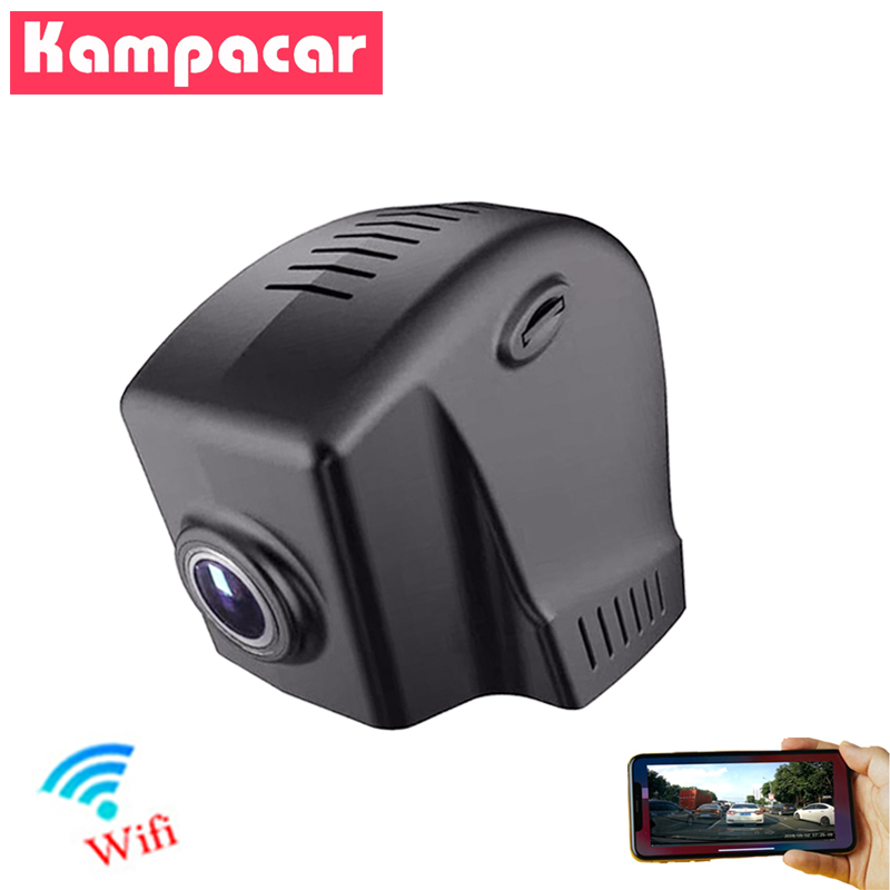 Kampacar Novatek 96658 Car Wifi DVR Dash Cam Auto Video Recorder For Volkswagen Passat b5 b6 b7 b8 Touran 2015 2016 HD Car Dvrs image