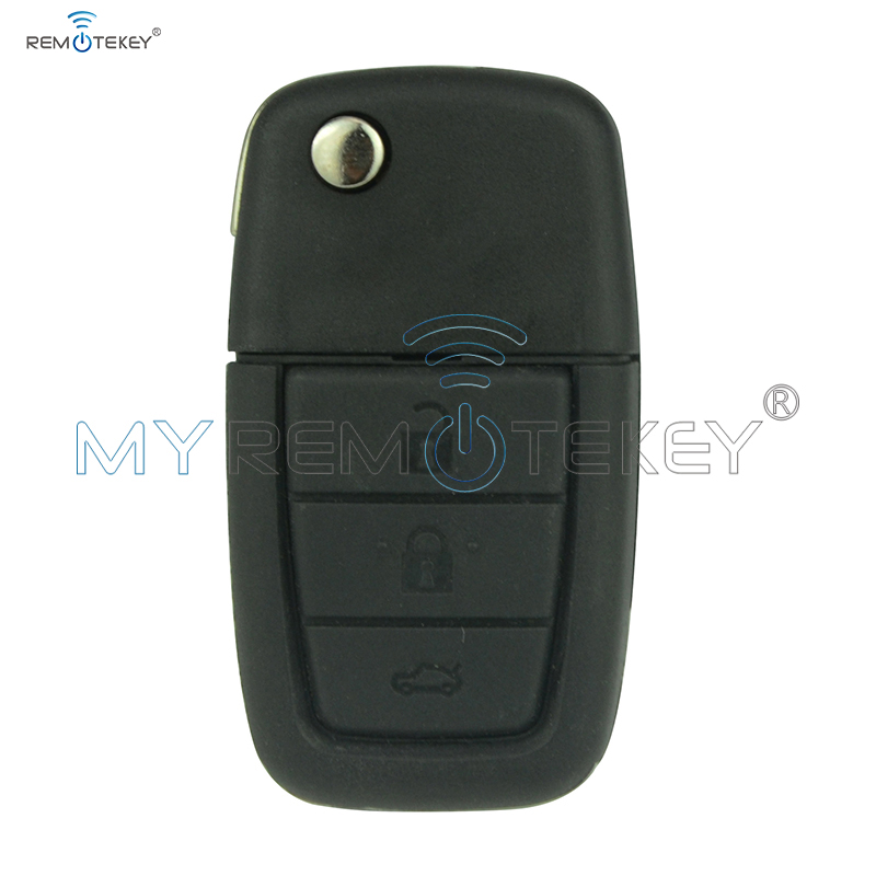 92213311 - 92252257 Remote Flip Car Key For Holden Ve Commodore 3 Button With Horn GM46lck Chip 434 Mhz GM45 Key Blade Remtekey