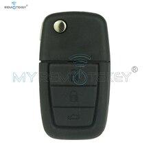 92213311-92252257 télécommande Flip voiture clé pour Holden Ve Commodore 3 bouton avec corne GM46lck puce 434 Mhz GM45 clé lame Remtekey
