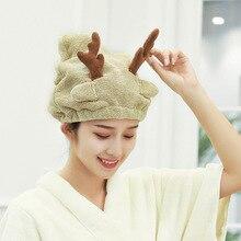 Women Towels Bathroom Microfiber Towel Rapid-Drying Hair Towel Bath