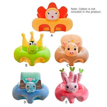 Baby Seats Sofa Support Seat Baby Plush Support Chair Learning To Sit Soft Plush Toys Travel cartoon Seat Without Fillers 1