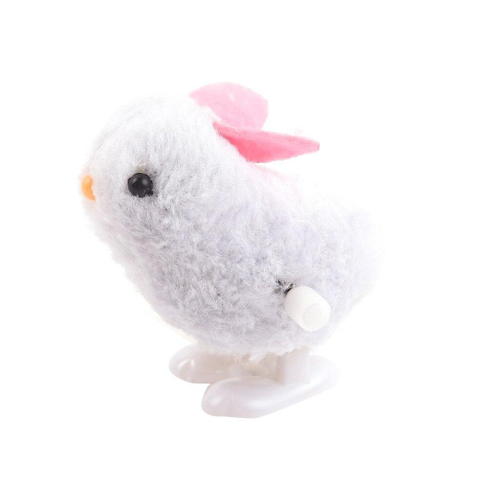 Winding Jumping Bunny Spring Plush Tu Wan Ju Stall Good Supply Of Goods Plush Bunny