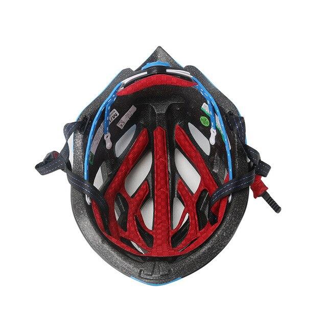 Mtb estrada ultraleve capacete de bicicleta certificação ce ciclismo capacete in-mold capacete da bicicleta casco ciclismo 57-62 cm para homem/mulher 6