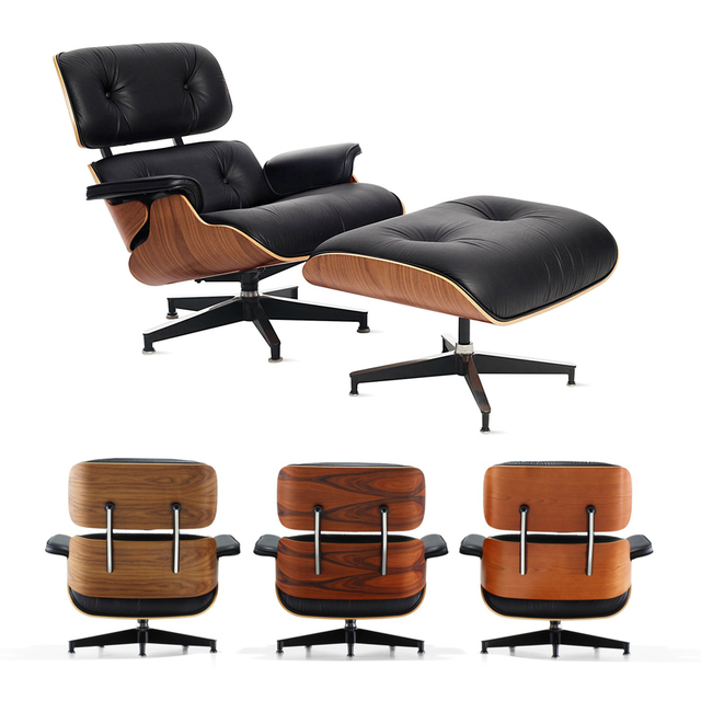 Furgle BIG SIZE XLStable Modern Classic Lounge Chair chaise furniture replica lounge chair real leather Swivel Chair Leisure 6