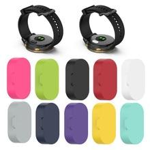 10 шт. силиконовая крышка-колпак Smartwatch Сенсор разъем Анти-пыль пыле защитный чехол с крышкой для Garmin Vivomove 3/4/Redmi 3s Аксессуары для смарт-часов