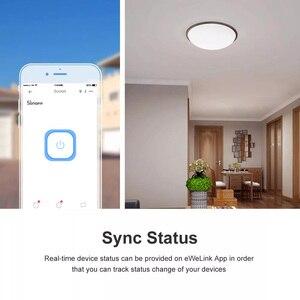 Image 2 - Itead SONOFF Basic R3 وحدة تبديل ذكية Wifi ، عبر e Welink ، جهاز تحكم عن بعد ، مفتاح تحكم في الضوء ، مؤقت