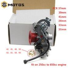 ZS MOTOS FCR28 31 33 35 37 39 41mm FCR Keihin Carburetor for CRF450/650 FS450 Husqvarna450 KTM Racing Motorcycle стоимость