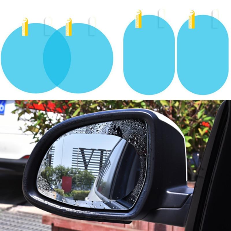 2 шт. автомобильная пленка на зеркало заднего вида, наклейка против воды для Peugeot RCZ 206 207 208 301 307 308 406 407 408 508 2008 3008 4008 5008