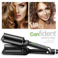 Curling Iron Professional Hair Curler Curling Iron Corrugated Corrugation Wave Hair Tongs Blank Irons Styling Tools Styler