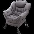 Небольшая квартира  ленивый диван  балкон  ленивый стул  спальня  общая спинка  простой складной диван  стул  один маленький диван