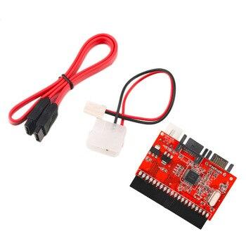 цена на 1 pcs Free / Drop Shipping IDE HDD to SATA Serial ATA Converter Adapter