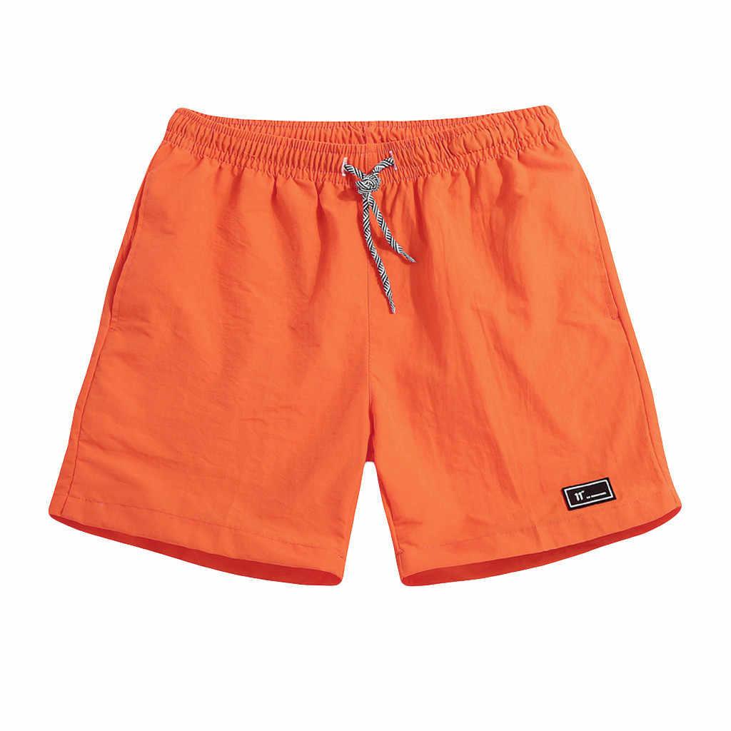 Short hommes été grande taille mince séchage rapide pantalon de plage sport décontracté pantalon court hommes Shorts légers en vrac