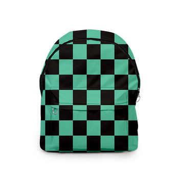 3D Backpack Demon Slayer Printing Shoulder Bag Men And Women Bag Oxford Cloth College Style School Bag For Teenage Customized