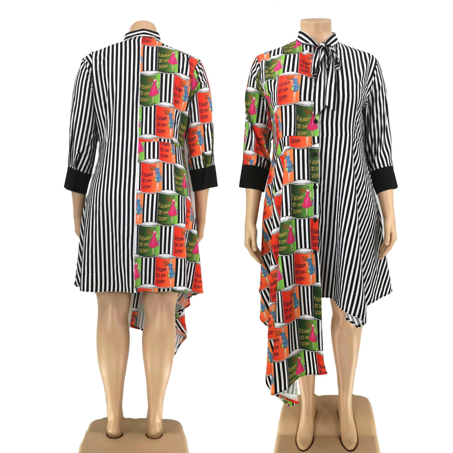 5XL 6XL Plus rozmiar sukienki afrykańskie dla damska suknia ubranie afrykańskie Dashiki modny nadruk tkaniny długa sukienka odzież z afryki