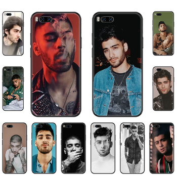 Singer Zayn Malik Phone case For Xiaomi Mi 6 8 9 A1 2 3 Max3 Mix2 Mix2S X T Lite Pro black fashion back painting hoesjes tpu image