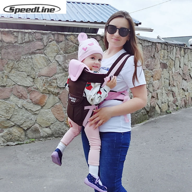 Speedline Breathable Front Facing Baby Carrier Sling Backpack Pouch Wrap Baby Kangaroo New  Porte Bebe 20kg