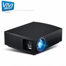 F20 мультимедиа smart tv цифровой proyector 1080P full hd видео-и ТВ-приставка beamer led Портативный lcd Мини 4k проектор для домашнего кинотеатра