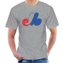 Montréal Expos T-Shirt Vintage Baseball - Standard avec Expos T-Shirt noir hommes modèles de base T-Shirt @ 051080