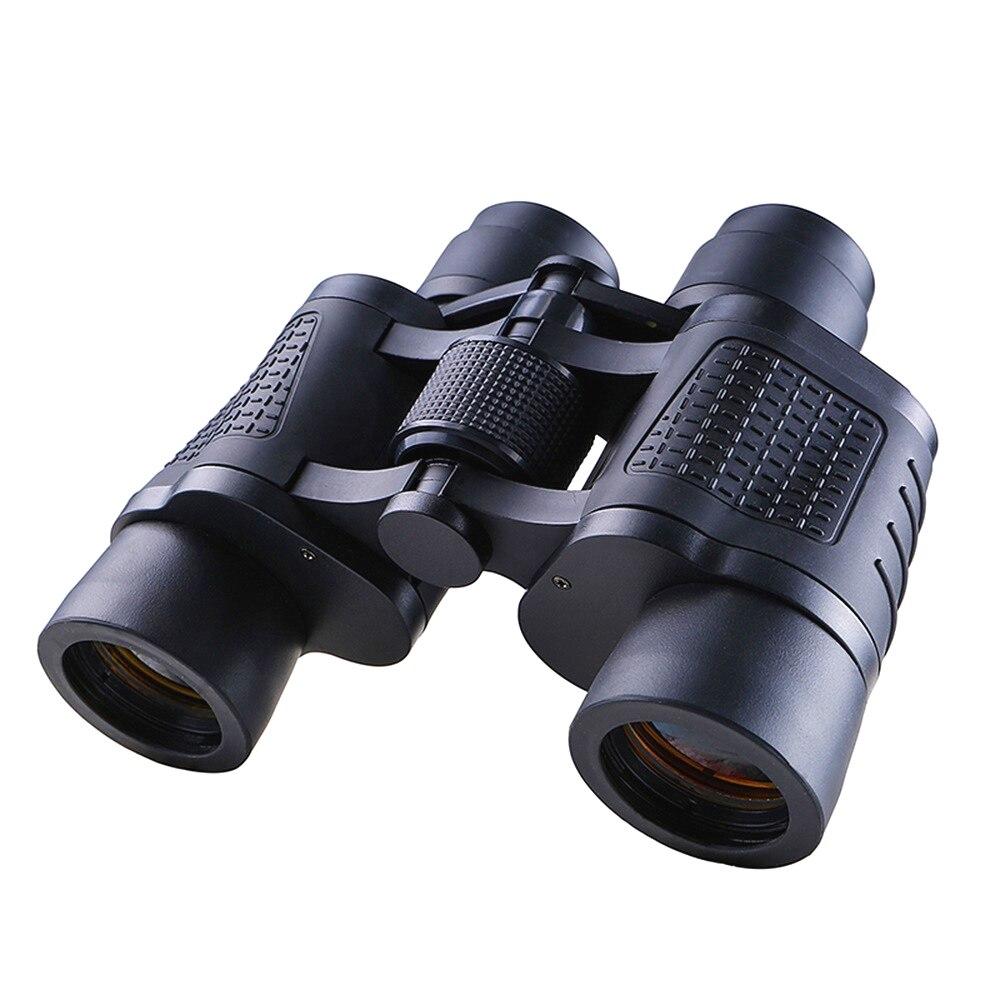 80x80 binoculos de baixa luz visao noturna telescopio profesionales caca ferramentas de longo alcance telescopios de