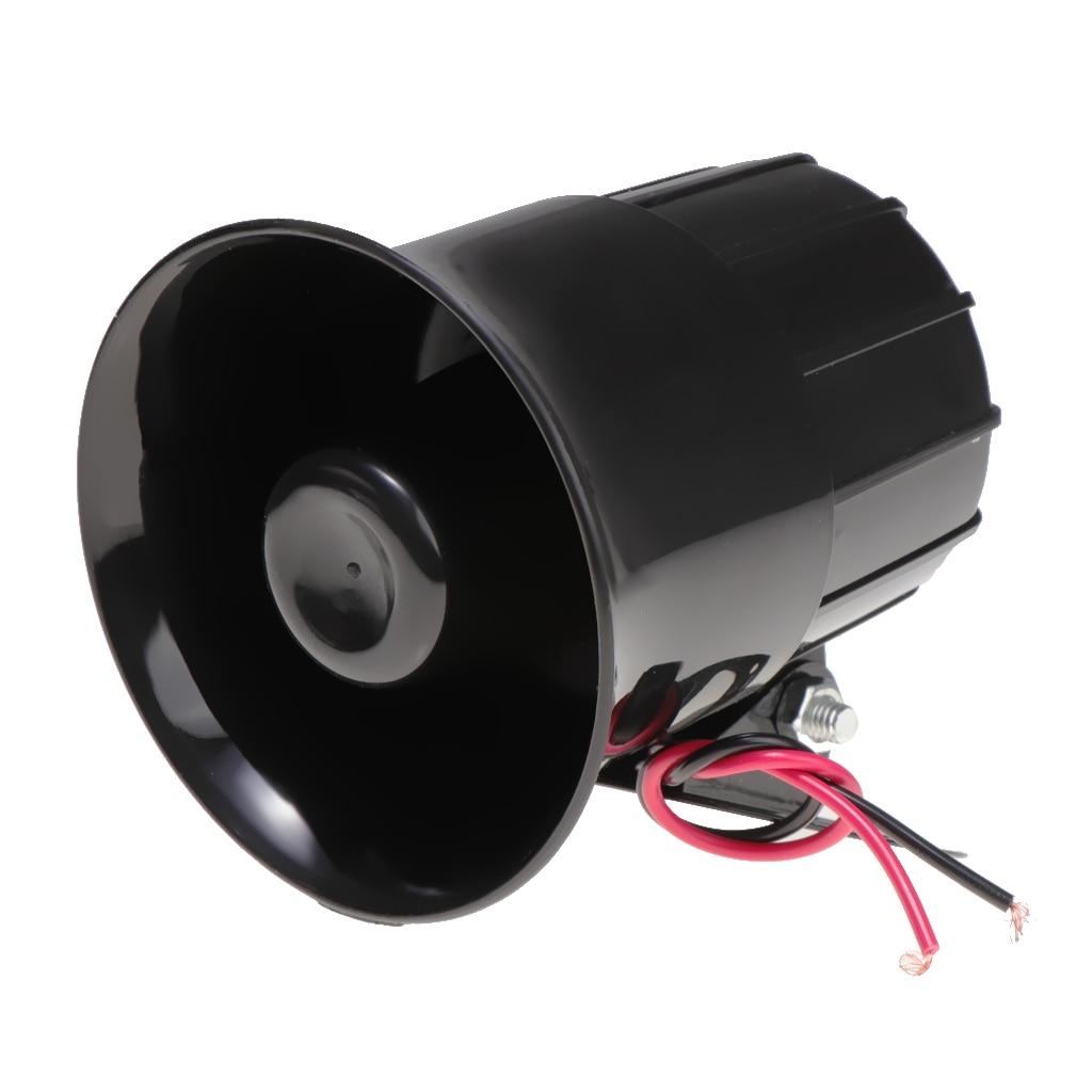 Громкий динамик для автомобильной сирены, 20 Вт, 12 В, 6 звуков, 110 дБ